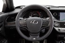 2018 lexus ls 500 f sport steering wheel motor trend