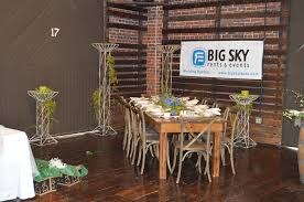 table and chair rentals nc big sky rents events equipment rentals and party rentals