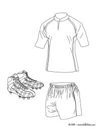 rugby gum shield and ball coloring pages hellokids com