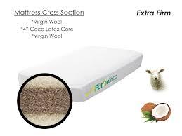 Crib Mattress Base Crib Mattress Chemical Free Safe Crib Mattress Wool Baby