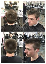 8 haircut look haircut with 3 8 on sides and 3 4 on top blended using shears