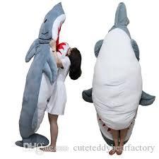 Shark Bean Bag 2018 2016 High Quality Personality Animal Shark Sleeping Bag