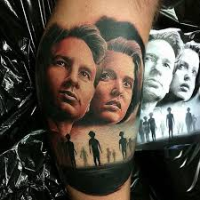 what we u0027re watching the x files tattoodo
