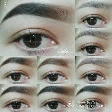 tutorial alis mata untuk wajah bulat tips cara membentuk alis yang cantik sesuai bentuk wajah trend masa