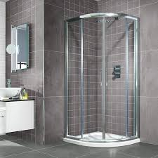 800 Shower Door Aqualake 800 Quadrant Shower Enclosure And Optional Tray