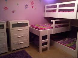 bunk beds triple full bunk beds metal loft bed with desk coaster