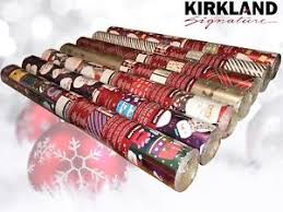 reversible christmas wrapping paper kirkland signature reversible sided foil christmas wrapping