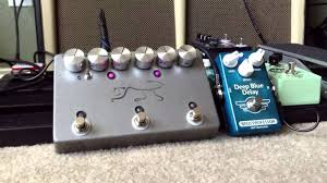 jhs delay jhs panther and mad professor blue delay demo