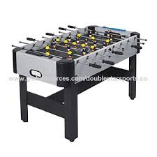 classic sport foosball table china 4ft classic mdf pvc laminated wooden foosball table pp leg