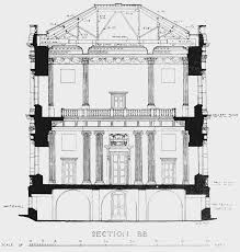 Edwardian House Plans by Plate 22 Banqueting House Cross Section British History Online