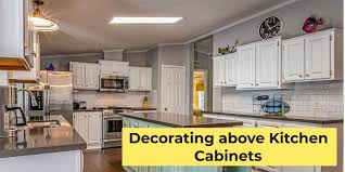 how to decorate space above kitchen cabinets decorating above kitchen cabinets with high ceilings