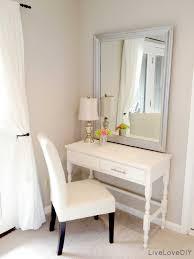 bedroom makeup table vanity ikea drawers set chair lights counter