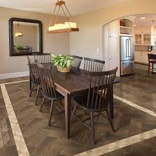 Dining Room Floor Daltile Parkwood Brown 7 In X 20 In Ceramic Floor And Wall Tile