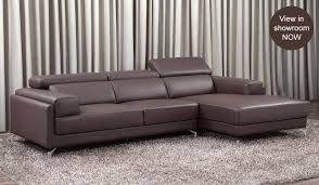 Brown Leather L Shaped Sofa Sofa Bed Design Small Leather Corner Sofa Bed Modern And