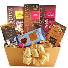 holiday arrangements godiva chocolate gift basket gourmet gift