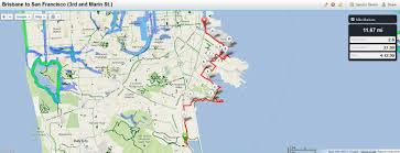 San Francisco Transportation Map by Maps Hike Stats And Transportation U2013 The San Francisco Bay Trail