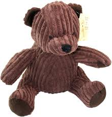 Decorative Door Stop by Take Me Home Teddy Bear Door Stop Chunky Cord Ribbed Teddy 28cm