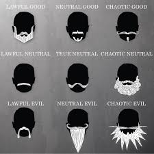 Alignment System Meme - what your beard says about your d d alignment meme sci fi