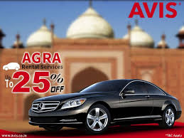 Car Rental Estimate by Avis India Car Rental Agency Offers Agra Car Rental Services With