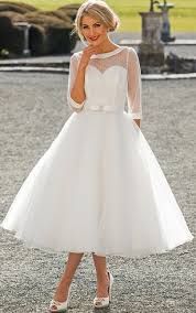 tea length wedding dress tea length bridal dresses mid length wedding gown dorris wedding