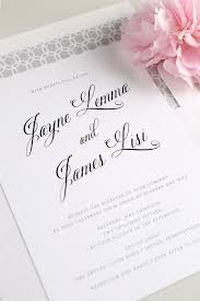 wedding card from to groom whose name goes on wedding invitation amulette jewelry