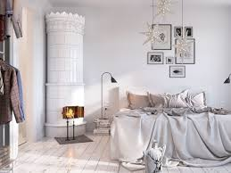 Nordic Bedroom by Bright Scandinavian Decor In 3 Small One Bedroom Apartments
