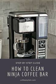 ninja coffee bar clean light keeps coming on how to clean ninja coffee maker