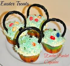 Easter Decorations For Cupcakes by Easter Treats For Kids Basket Cupcakes Kids Play Box