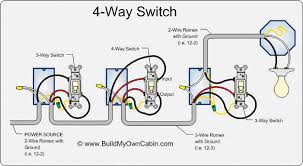 how to wire a 4 way switch electrical