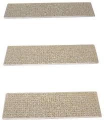 indoor or outdoor non slip carpet stair treads seashore set of