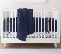 Pottery Barn Kids Baby Bedding The Emily U0026 Meritt Organic Scattered Stars Baby Bedding Pottery