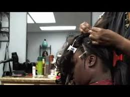 securetress com healthy 1 hour weave no sew glue tape part 1 of 2 youtube