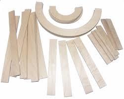 capital letter wood pieces
