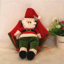 decorations present diy parachute santa claus