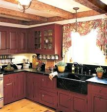 black distressed painted kitchen cabinets rustic paint colors for