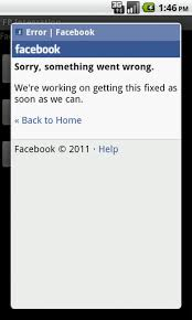 fb app android android error unable to login in to fb app stack overflow