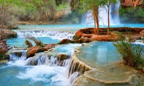 Arizona rivers images Waterfalls water canyons falls waterfalls arizona rivers green jpg