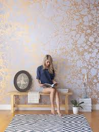gold leaf wallpaper patterns that please pinterest wallpaper