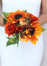 sunflower bouquet rust orange and sunflower bouquet sunflowers afloral