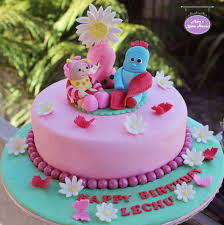 iggle piggle upsy daisy in the night garden birthday cake amy u0027s