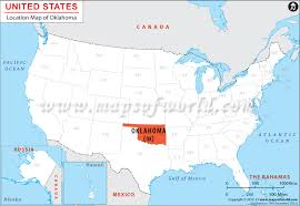 ud cus map where is oklahoma location of oklahoma