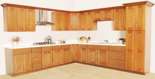 Cherry Kitchen Cabinets Pictures by Kitchen Natural Cherry Shaker Cabinets Eiforces