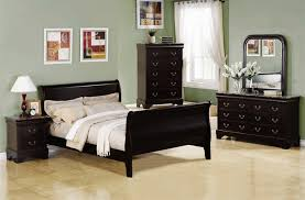 Marble Top Dresser Bedroom Set Louis Philippe 6 Piece Bedroom Set In Cappuccino Finish Marble