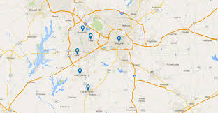 Cary Map Service Areas Advanced Landscape U0026 Irrigation Serving Apex