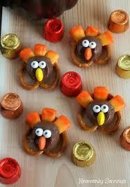 pretzel turkeys thanksgiving treat