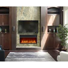 home decor electric fireplace insert with blower decorating