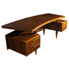 Modern Desks For Sale Rare Scapinelli Curved Desk Furniture Storage Desks And Storage