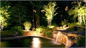 Patio String Lighting Ideas by Backyards Appealing Backyard Landscape Lighting Backyard