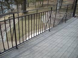 metal deck railing steel metal deck railing heritage iron u2026 flickr