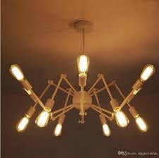 Art Deco Light Fixture Modern Brass Mid Century Sputnik Atomic Chandelier Starburst Light